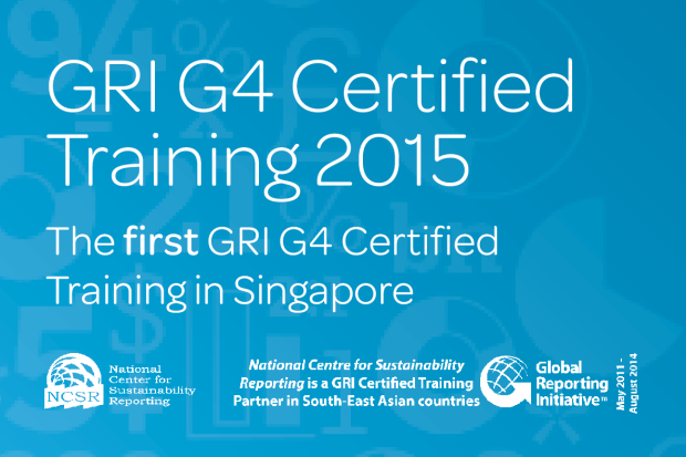 GRI G4 Certified Training Course in Singapore