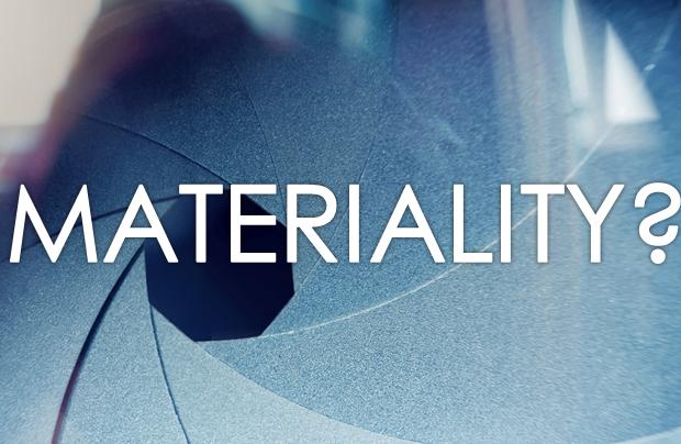 Making Sense of Materiality: Webinar