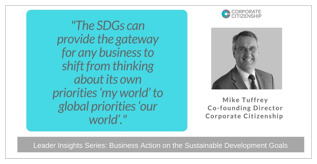 Mike Tuffrey Business Action on the SDGs